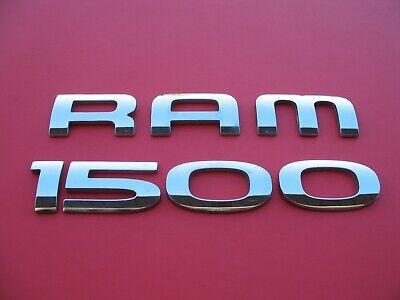 2002 2003 2004 2005 2006 2007 2008 Dodge Ram 1500 Emblem Chrome Letters Door
