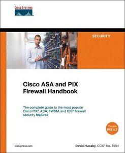 Details about Cisco ASA and PIX Firewall Handbook