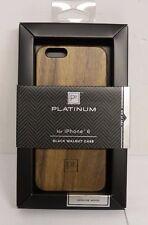 Platinum - Premium Wood Case for Apple iPhone 6/6s - Black Walnut