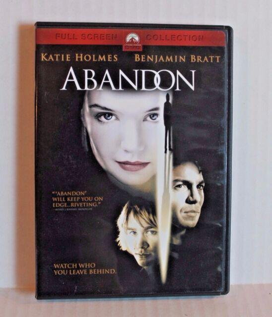 Abandon (DVD, 2003, Full Screen) Movie Starring Katie