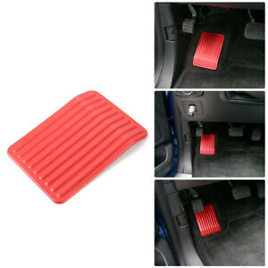 Driving-Position-Left-FootRest-Pedal-Surface-Coverage-Cover-for-Ford-F150-Red