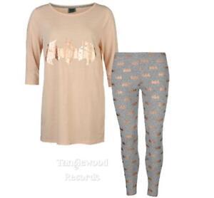 Image is loading Batman-Distressed-logo-Ladies-Two-piece-pajama-set 228fe0552