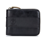 BULLCAPTAIN Mens Genuine Leather Antimagnetic Wallet Card Slots Holde Coin Purse