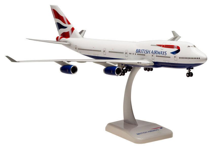 British airways boeing 747 - 400 200 lupa modell 2346 b747 neu.