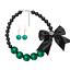 Fashion-Jewelry-Crystal-Choker-Chunky-Statement-Bib-Pendant-Women-Necklace-Chain miniature 93