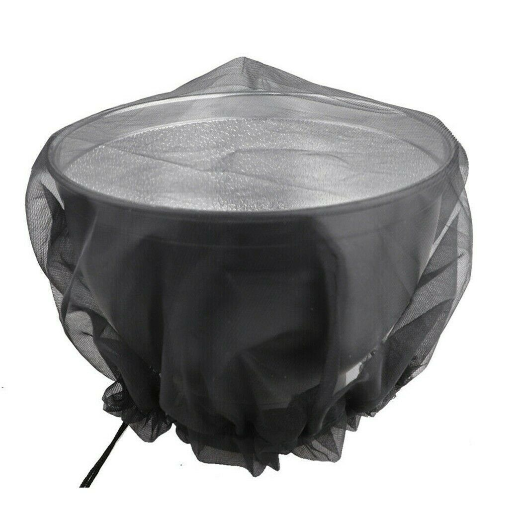 Outdoor Rain Barrels-Net With Cord Anti-Mosquito Water Barrel Protection Cover