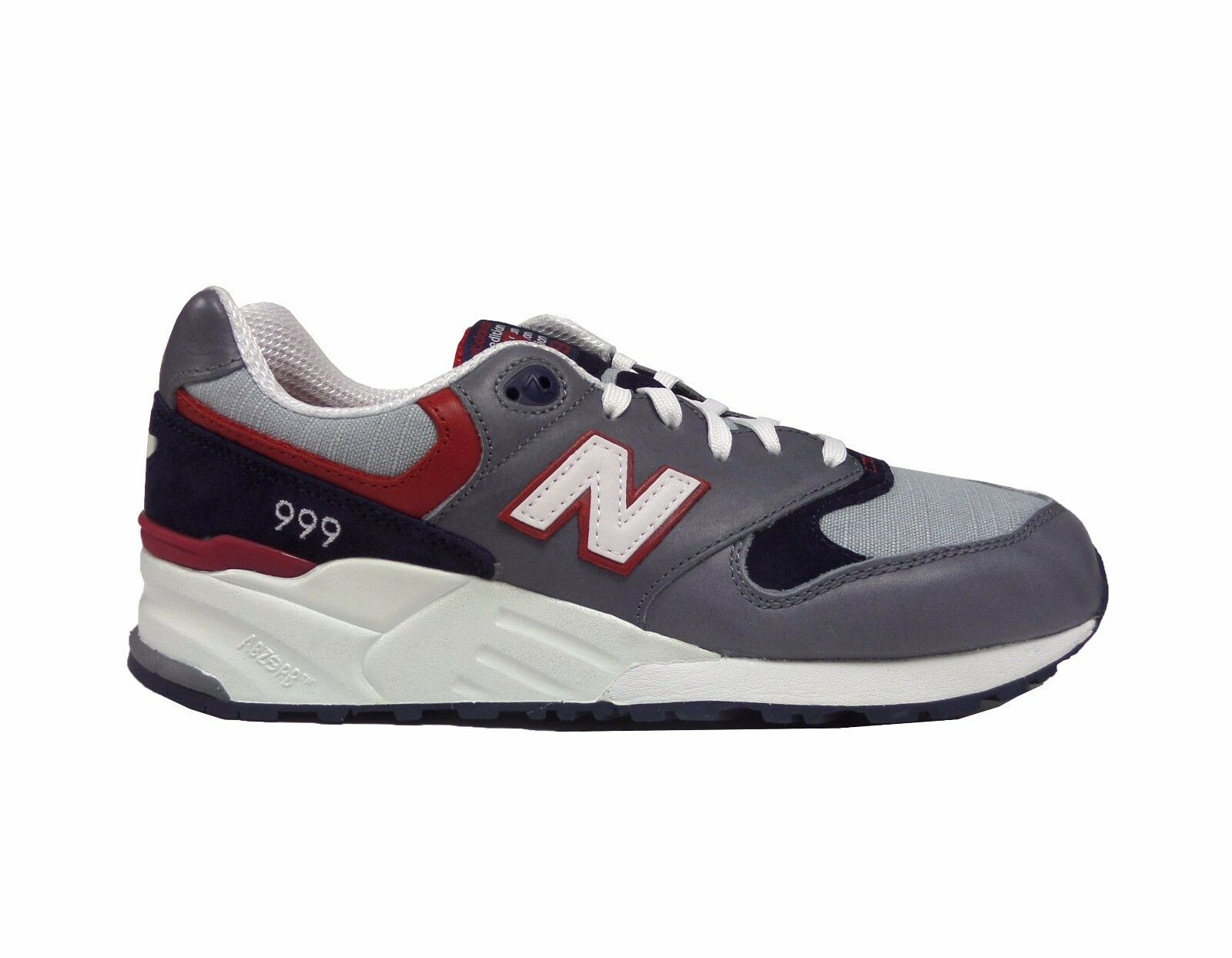 New Balance Men's 999 ELITE EDITION LOST WORLDS Shoes Grey/Navy/Red ML999LW a