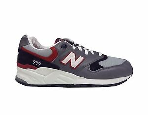 New Balance Men s 999 ELITE EDITION LOST WORLDS Shoes Grey Navy Red ... bdae62885