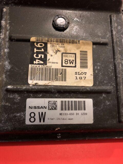 04 Nissan TITAN ECM ECU Engine Computer PCM Mec33-650 D1 8w