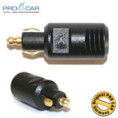 PROCAR spina standard 8a 12-24 volt spina DIN EN ISO 4165 norma presa PRO CAR