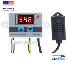 W3005 110 220v Incubator Digital Humidity Controller Hygrometer Switch Tester