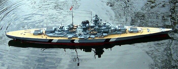 Bismarck 1 1 1 350 radiocontrol-terminado construido sobre pedido-ready to Run  artículos de promoción