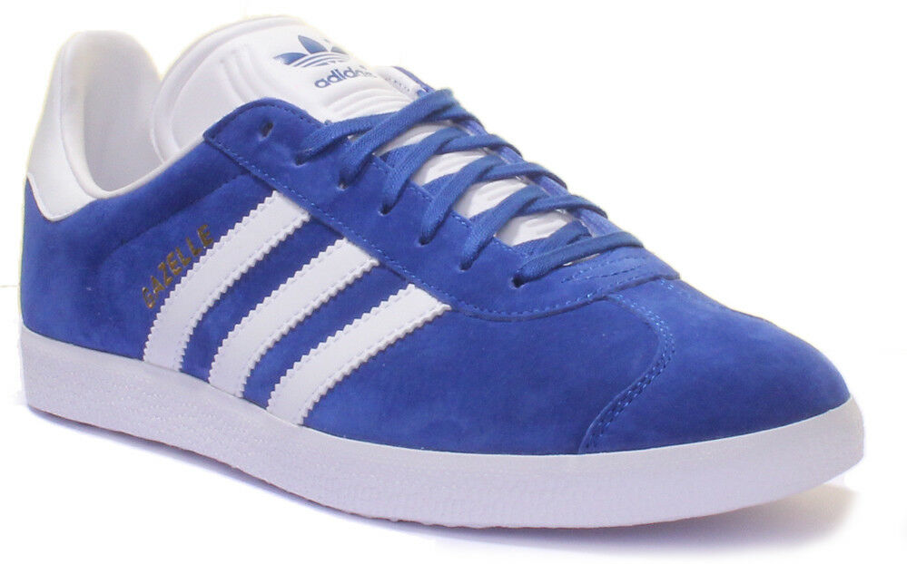 Adidas Gazelle Men Suede Leather Trainers 3-6.5