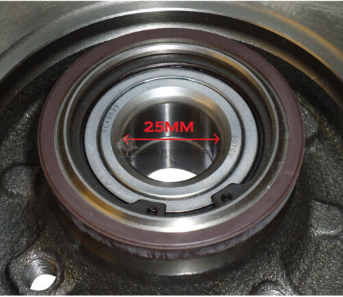 CITROEN C4 FRONT /& REAR BRAKE DISCS AND PADS FITTED WHEEL BEARINGS ABS RINGS