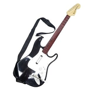 Rock Band Harmonix Guitar NWGTS2 Wireless Fender Stratocaster Wii Untested