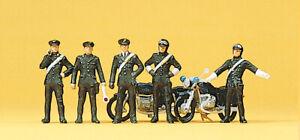 Preiser 10175 Carabinieri, 2 Motorräder, H0
