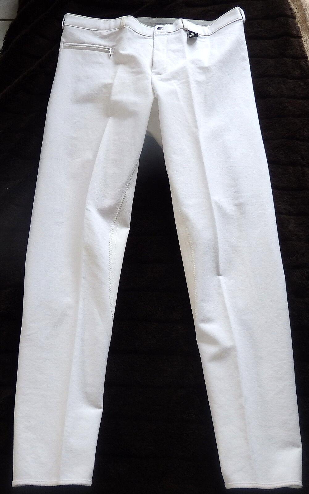 KYRON Uomo Pantaloni Montala, 3 4 guarnizione in pieno, Bianco, Tg. 52 Danny (571)