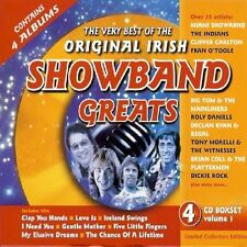 THE VERY BEST OF THE ORIGINAL IRISH SHOWBAND GREATS 4 CD SET - VARIOUS ARTISTS