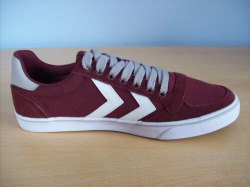 Stadil 5 Slimmer Unisexe Nouvelle Hummel Trainer Lo Chaussures Mono Rouge Uk Vin tqawU