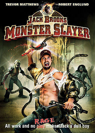 Jack Brooks Monster Slayer DVD DISC COVER ART ONLY NO CASE EXCELLENT CONDITI - $3.99