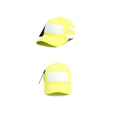 Unisex Mens Womens Fluorescent Color Neon Baseball Cap Patroller Hats Orange