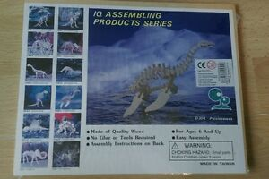 Plesiosaurus-wooden-puzzle-model-kit-Great-for-Christmas
