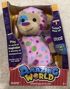 Amazing-World-Pearl-Plush-Stuffed-Animal-Toy-By-Ganz-NIB