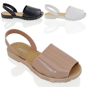 Donna Jelly Sandali stile Minorca Infradito estive da calzature spiaggia