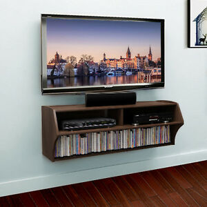 Umax Floating Tv Stand Wall Mounted Media Console With Storage Video