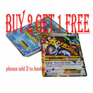 18pcs-Pokemon-TCG-18-Card-Mega-Poke-Flash-Cards-EX-Charizard-Venusaur-Blastoi-GB