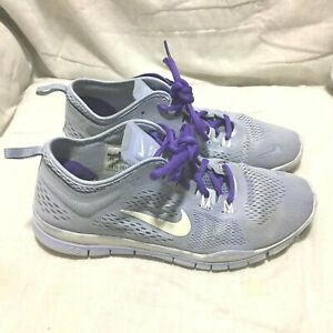 Details about NIKE FREE TR FIT 4 RUNNING SHOES BLUE SIZE 8.5 WOMEN`S