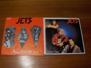 2x THE JETS  Singles Party Doll & Alligator EP   Rockabilly  Vinyl/Sleeve:mint-