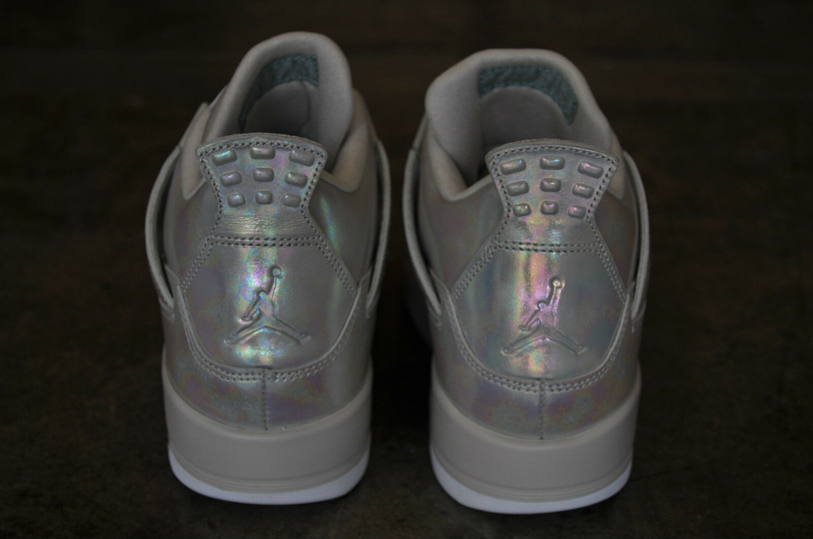 Nike Air Jordan 4 Retro Pearl GG (GS) - Light Light Light Bone Cannon-Light Bone 770318