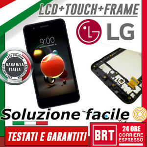 DISPLAY-LCD-TOUCH-SCREEN-FRAME-ORIGINALE-PER-LG-K9-2018-LM-X210EM-VETRO-SCHERMO