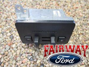 11 thru 14 F-150 F150 OEM Genuine Ford Factory Dash Trailer Brake Controller Kit