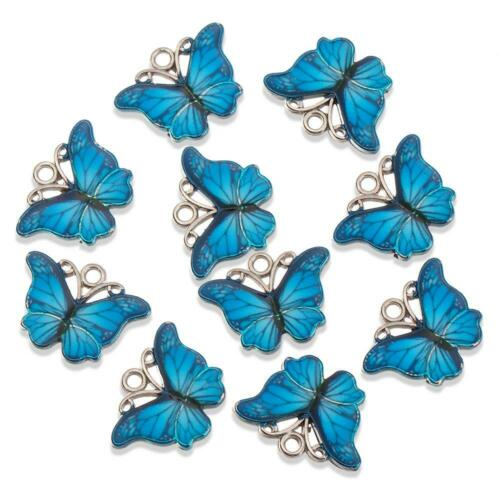 Cute Animal Charms Butterfly Pendant Necklace Earring Crafting Jewellery Making