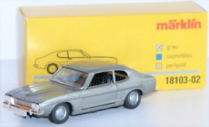Marklin-1-43-18103-02-Ford-Capri-de-Metal-IN-Gris-Neuf-Emballage-D-039-Origine