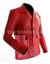 NEW-Fight-Club-Brad-Pitt-Leather-Jacket-FC-Coat-Red-BIG-SALE-BEST-QUALITY thumbnail 2