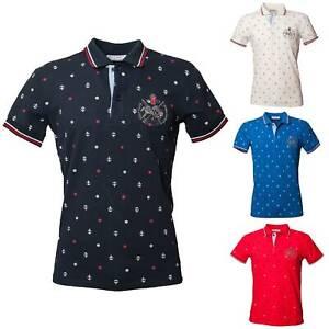 Polo-Uomo-Manica-Corta-Cotone-Casual-Maglietta-Slim-Fit-Maglia-Sportiva-T-shirt