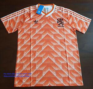 1988 Holland Shirt Jersey Netherlands Retro Classic Soccer Euro 88