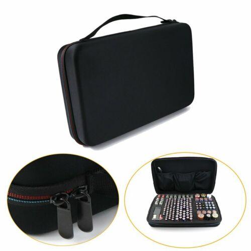 Eva Large Battery Organizer Handheld Storage Bag Carrying Case For AA Batteries