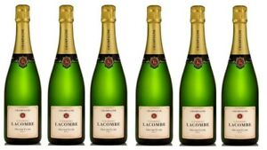 French-Champagne-Georges-Lacombe-Grande-Cuvee-Brut-6-Bottles-Free-Shipping