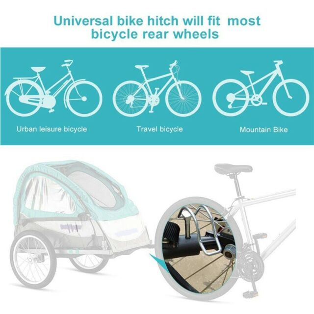 For InStep Bike Trailer Coupler Compatible Angled Elbow Schwinn Hitch Useful US