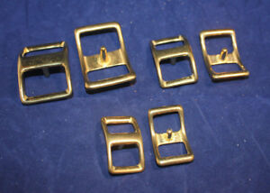 Conway-Buckles-Assortment-Solid-Brass-16-pieces-F143
