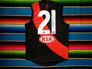 Signed-DYSON-HEPPELL-Essendon-Bombers-Guernsey-PROOF-COA-Jumper-AFL-2020