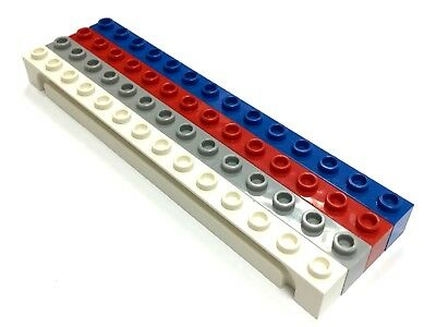 Select Colour // FREE P/&P! Brick LEGO 4217 Modified 1 x 14 with Groove
