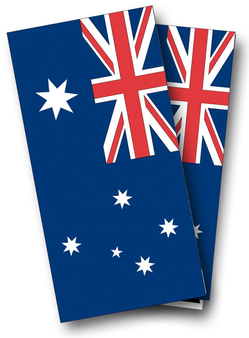 AUSTRALIAN FLAG CORNHOLE WRAP SET High Quality Vinyl Board DECAL w  Squeegee