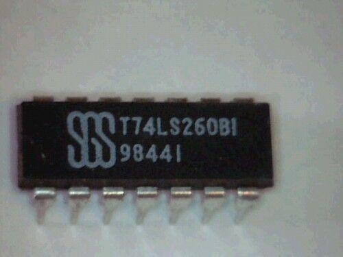 IC t74ls260b1 74ls260 dual 5-input nor Gate 10pcs
