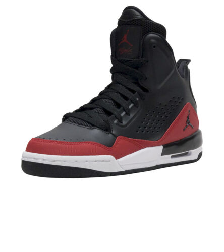 Black//Gym Red-White New Youth Air Jordan SC-3 GS Shoes 629942-009