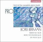 Prokofiev: Complete Piano Music, Vol. 3 (CD, Mar-1991, Chandos)